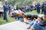 UC Davis police pepper spray student protesters put on leave
