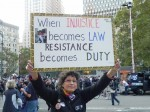When INJUSTICE becomes LAW, RESITANCE becomes DUTY