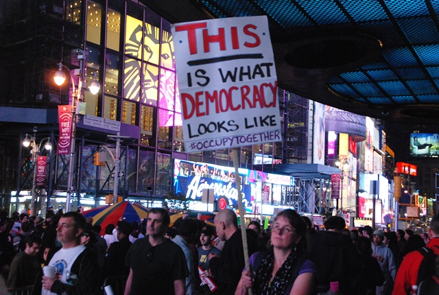 This Is What Democracy Looks Like >> This Is What Democracy Looks Like Occupy Wall Street October 2011