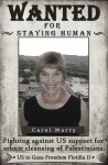Carol Murry, Audacity of Hope passenger, wanted by Congress for staying human.