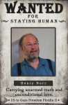 Henry Norr, Audacity of Hope passenger, wanted by Congress for staying human.