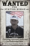 Ken Mayers, Audacity of Hope passenger, wanted by Congress for staying human.