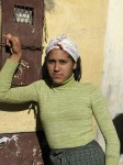 Sassy, engaging young woman in the Berber city of Azrou.