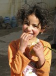 Young girl in the Berber city of Azrou.