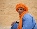 A Berber gentleman outside of Arfoud, in the Sahara Desert, who allowed me to ride his camel.