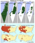 Palestinian Land Loss 1946-2000  Native American Land Loss 1850-1990