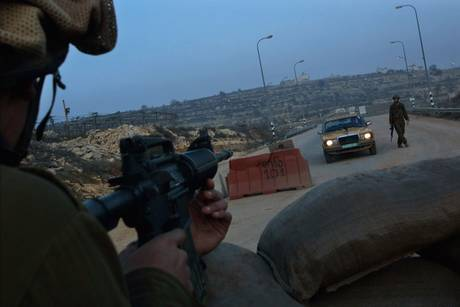 IDF Checkpoint in Hebron, Palestine.