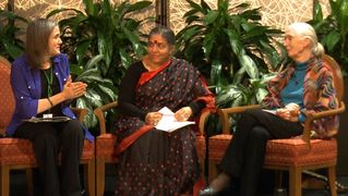 Vadana Shiva & Jane Goodall On Serving The Earth & How Women Can Address Climate Crisis
