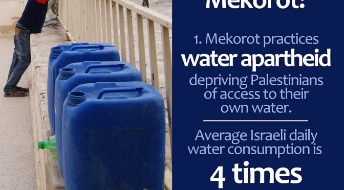 MEKOROT: An Apartheid Adventure