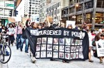 The killing of Michael Brown in Missouri last weekend prompted this Chicago protest against police viol