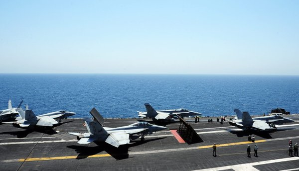 U.S. Jets And Drones Attack Militants In Iraq, Hoping To Stop Advance