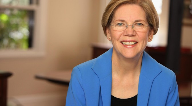Elizabeth Warren Says Killing Palestinian Civilians Is The Last Thing Israel Wants'