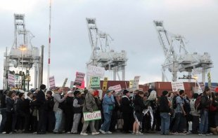 Why Activists Are Blocking an Israeli Ship From Docking on the West Coast