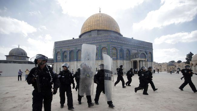 Israeli Forces Attack Palestinians At Al-Aqsa Mosque
