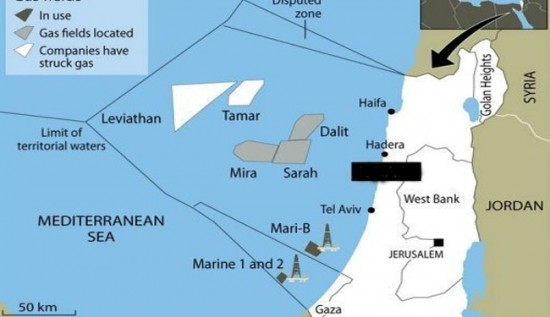 Israel Gaza war to grab Palestinian water & gas