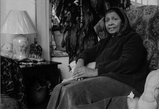 "Ethel Weatherspoon at her home in North Lawndale. After she bought it in 1957, she says, ""most of the whites started moving out."" Photo by Carlos Javier Ortiz"
