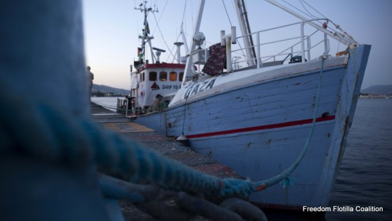 Photo by Freedom Flotilla Coalition