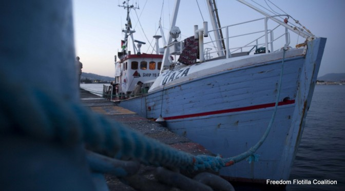 #FreedomFlotilla Sets Sail; Urge Kerry to Oppose Attack