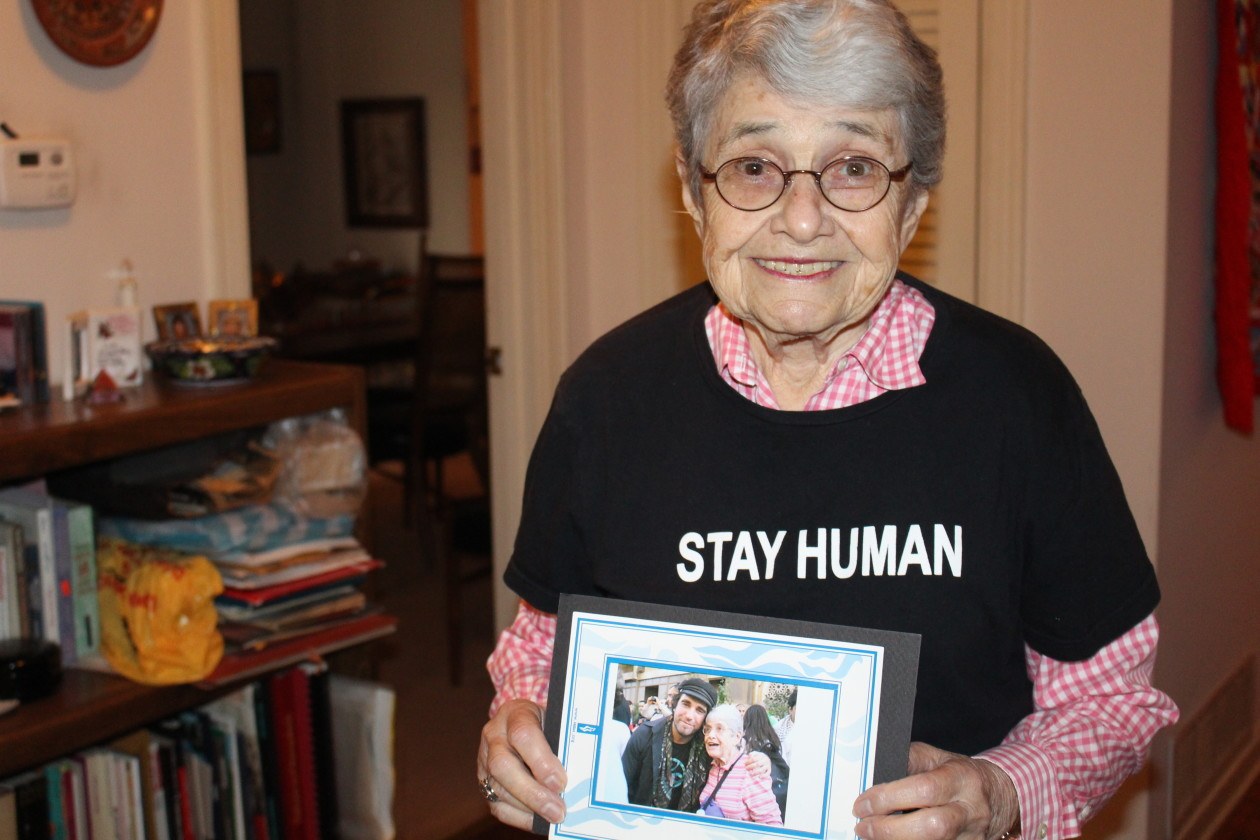 Hedy epstein s message to the world stay human for 125 broad street 18th floor new york ny 10004