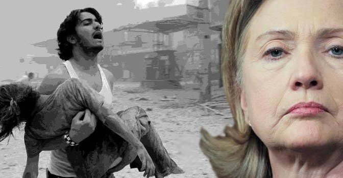Clinton Email: We Must Destroy Syria For Israel